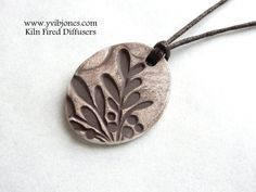 Essential Oil Diffuser NECKLACE Aromatherapy by KilnFiredDiffusers