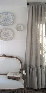Love the curtain panels