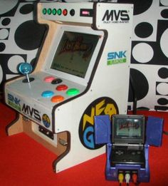 MVS tabletop arcade MOD | Dingoonity.org - The Dingoo Community