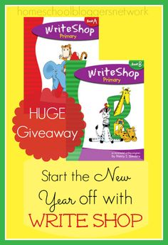 WriteShop is a FUN hands on writing program! Hurry and enter this generous giveaway before it ends December 17th!! WIN a COMPLETE Level of WriteShop (K-12)! www.inallyoudo.net