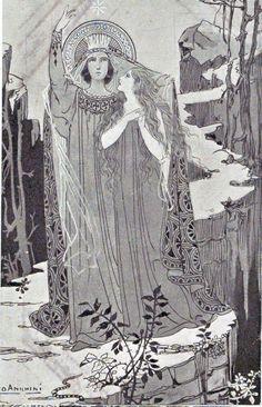 The Loreto Litany ~ Tiburzio Ezio Anichini Religious Images, Religious Art, Ink Illustrations, Illustration Art, Art Nouveau, Pop Art, Renaissance, Pre Raphaelite, Catholic Art