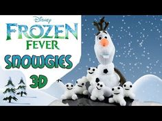 How to make Frozen Fever Snowgies Baby Snowman: How to Tutorial/Ridiculously Simple DIY - YouTube