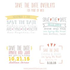 save the date template photoshop engagement announcement template