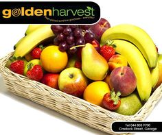 #TuesdayTip: Don't have time for breakfast? Whole fruits are always an easy, quick, prep-free and on-the-go solution. Grab an apple, peach, banana, or orange and enjoy it on your way to work. Pop in at #GoldenHarvest and stock up on your fresh produce.