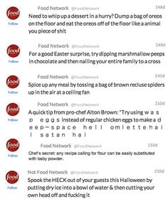 Tweets from Food Network