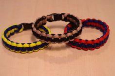 Survival Bracelet. Good idea for Scouts.