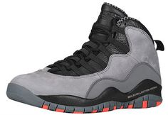newest 6163d e49be Air Jordan 10 Retro Cool Grey Infrared Black Release Date