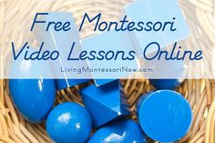Free Montessori Video Lessons Online