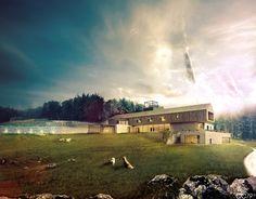 Villa A by cristian chierici, via Behance
