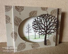 This Months Newsletter Card using the Thoughtful Branches Bundle from Stampin' Up! A Tutorial for this is now on my blog. Fiona Whitten - Oakfield Crafts