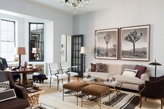 Room of the Day ~ the mix - Nate Berkus design 8.21.2013