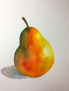 Pear by Syd George with Peerless Watercolors