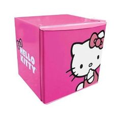 Hello Kitty Compact Refrigerator - Pink (1.8 CuFt)- Hailey comes to mind.. she would want this in her room..haha