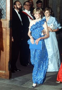 Princess Diana At The Guildhall In London For A Fashion Show Raising Funds For Birthright, The Charity For Which She Is Patron
