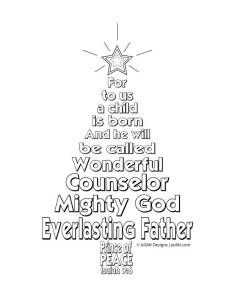 isaiah and micah coloring pages | 9 best Prophets Told About Jesus' Birth; Isaiah 7:1-14; 9 ...