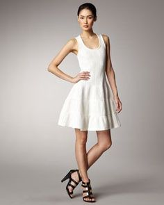Summer Rib-Knit Dress by Thakoon at Bergdorf Goodman. d13106fefb05
