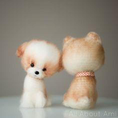 Chinese New Year Crochet Dog