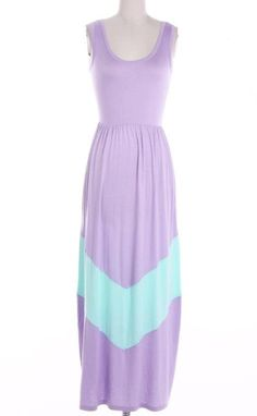 BEAUTIFUL Lavender & Mint Chevron Colorblock by ShopSouthernBelle, $38.99