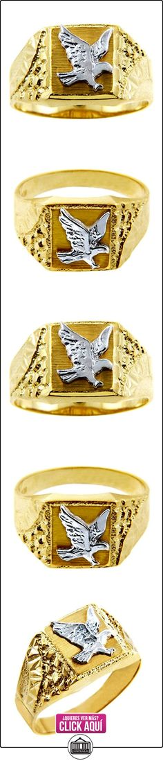 Pequeños Tesoros - Anillos Hombres Alianza De Boda 10 Kt Oro 471/1000 Oro - 2 Colores Oro Águila  ✿ Joyas para hombres especiales - lujo ✿ ▬► Ver oferta: https://comprar.io/goto/B0124KO8VU