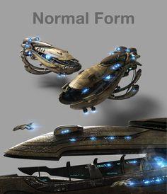 Alien Spaceship, Spaceship Design, Alien Concept Art, Starcraft 2, Stars Craft, Anthro Furry, Battleship, Best Games, Game Design