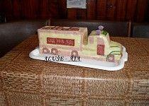Slaný dort - kamion Sandwich Cake, Sandwiches, Food Design, Butter Dish, Dishes, Desserts, Facebook, Savory Snacks, Ideas