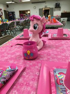 My little pony birthday pony tables