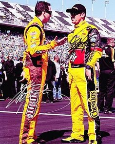 2011 Clint Bowyer #33 & Kyle Busch #18 (Pit Road Chat) NASCAR 8x10 Photo *2X SIGNED* by Trackside Autographs. $69.95. For your viewing pleasure: *2X AUTOGRAPHED* 2011 Clint Bowyer #33 & Kyle Busch #18 (Pit Road Chat) 8x10 Photo. This glossy NASCAR picture has been hand-signed by both Clint and Kyle through a well-respected member of Global Authentication. You will receive a Certificate of Authenticity (COA) with your purchase, and we also offer a 100% life-time guarante...