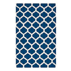 need this in navy...Casablanca Dhurrie Rug - Indigo | Area-rugs | Panels-and-rugs | Z Gallerie