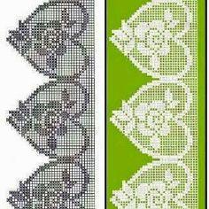 ♡ ♡ Bico em Crochê Flores  -   /   ♡ ♡ Beak Crochet Flowers -