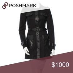 COMING SOON | Rachel Zoe Black Coat | Leather Trim COMING SOON! Beautiful Rachel Zoe Black Belted Coat. Faux leather trim. Size 6. Like this listing to be notified when available. More photos posted soon! COMING SOON! All items come from a Smoke FREE home. Rachel Zoe Jackets & Coats Trench Coats