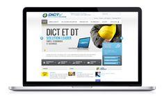 DICT.fr - Site internet -Analyse ergonomique -Travail sur les terminologies -Refonte graphique complète axée sur la valorisation des offres et le contact  www.heliopsis.net www.strategies-digitales.com