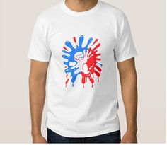 Paintball Splatter Red & Blue Plus Mascot T-Shirt Sizes Available Small,Medium,Large,X-Large (XL),XX-Large (2XL) 6.1oz. White Crew Neck Unisex, No-Pockets T-Shirts Shipping is Free in the USA Items Ships in 1-2 Weeks Paintball Splatter Red & Blue Plus Mascot T-Shirt is …