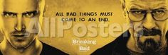 Breaking Bad - All Bad Things People Poster - 157 x 53 cm