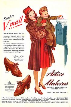 Active Moderns Ad (early-1940s).