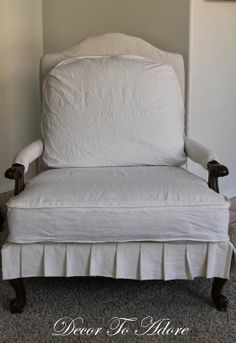 Sure Fit Pen Pal By Waverly Wing Chair Slipcover
