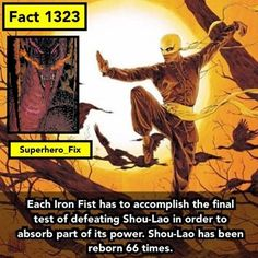 I bet they'll make Shou-Lao a person instead of a dragon on the Netflix show. - #ironfist #dc #lukecage #marvel #deadpool #avengers #daredevil #defenders