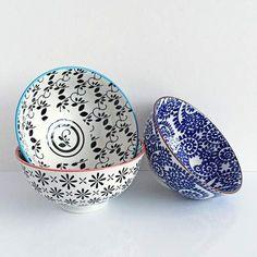lojaMO.D - Trio de bowls em cerâmica Mix02