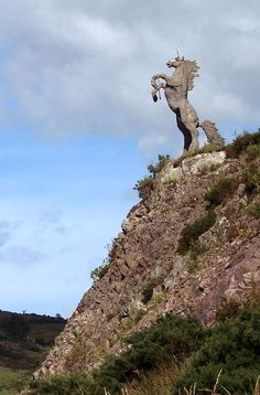 Capall Mor statue (Unicorn), Co Kerry, Ireland