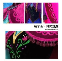 H-SAMA blog: Como fazer? Cosplay Princesa Anna (Roupa de Viagem) - FROZEN