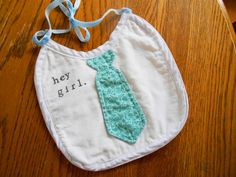 10 slightly inappropriate (but still awesome) baby shower gifts - #heygirl bib for the next Ryan Gosling for $11