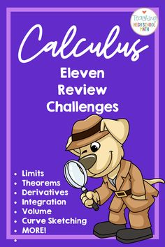Fun puzzles to use to review Calculus AB material.  Use one or all of them.  My students loved these! #funincalculus #calculusabreview Data Science, Chemical Engineering, Electrical Engineering, Ab Testing, Ap Calculus, Software, Recording Sheets