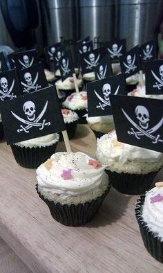 Halloween Baby Shower Food Halloween Pirate Party #halloween #food #cupcake www.loveitsomuch.com