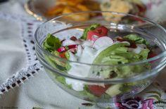 Słodko-ostry sos do sałaty
