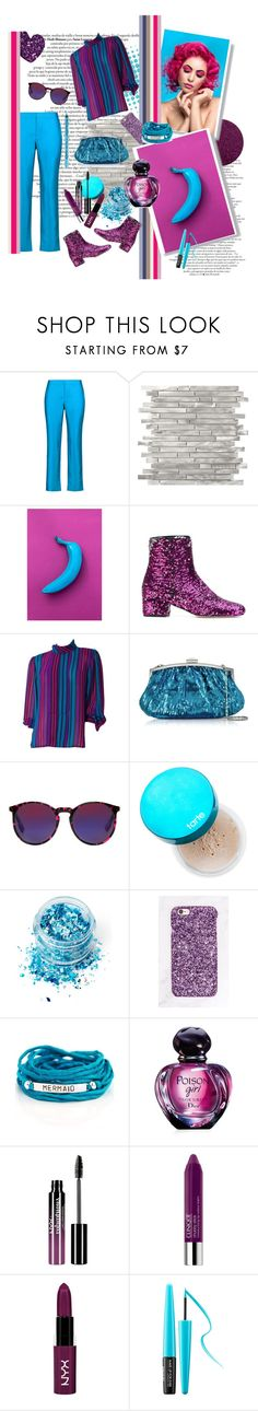 """""""Untitled #201"""" by etotnikzanyat ❤ liked on Polyvore featuring Raoul, Chiara Ferragni, Julia Cocco', McQ by Alexander McQueen, tarte, In Your Dreams, Blooming Lotus Jewelry, Christian Dior, Charlotte Russe and Clinique"""
