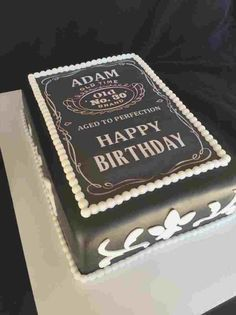25 Elegant Photo Of Men Birthday Cake Happy For