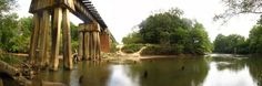 csx choctawhatchee river newton alabama | Panoramio - Photo of Railroad Bridge