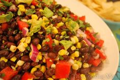 Southwest Corn and Black Bean Salad | The Cooking Mom