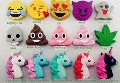 Wholesale cheap cartoon power bank online, brand - Find best emoji chargers 2600mah powerbank soft pvc unicorn poop devil horse skull power bank smart phone charger with box at discount prices from Chinese other batteries & chargers supplier - army2012 on DHgate.com.