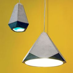 The idea of casting concrete into a pendant light shade isn't a typical one, but the beautiful Portland Light by Innermost proves that even the most contradictory of material experimentation can be an absolute triumph. http://www.nuastyle.com/lighting/658-portland-concrete-lights-by-innermost.html