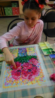 Best flowers crafts for kids paint ideas Craft Projects For Kids, Art Projects, Crafts For Kids, Drawing For Kids, Painting For Kids, Painting Art, Kids Art Class, Art For Kids, Flower Crafts